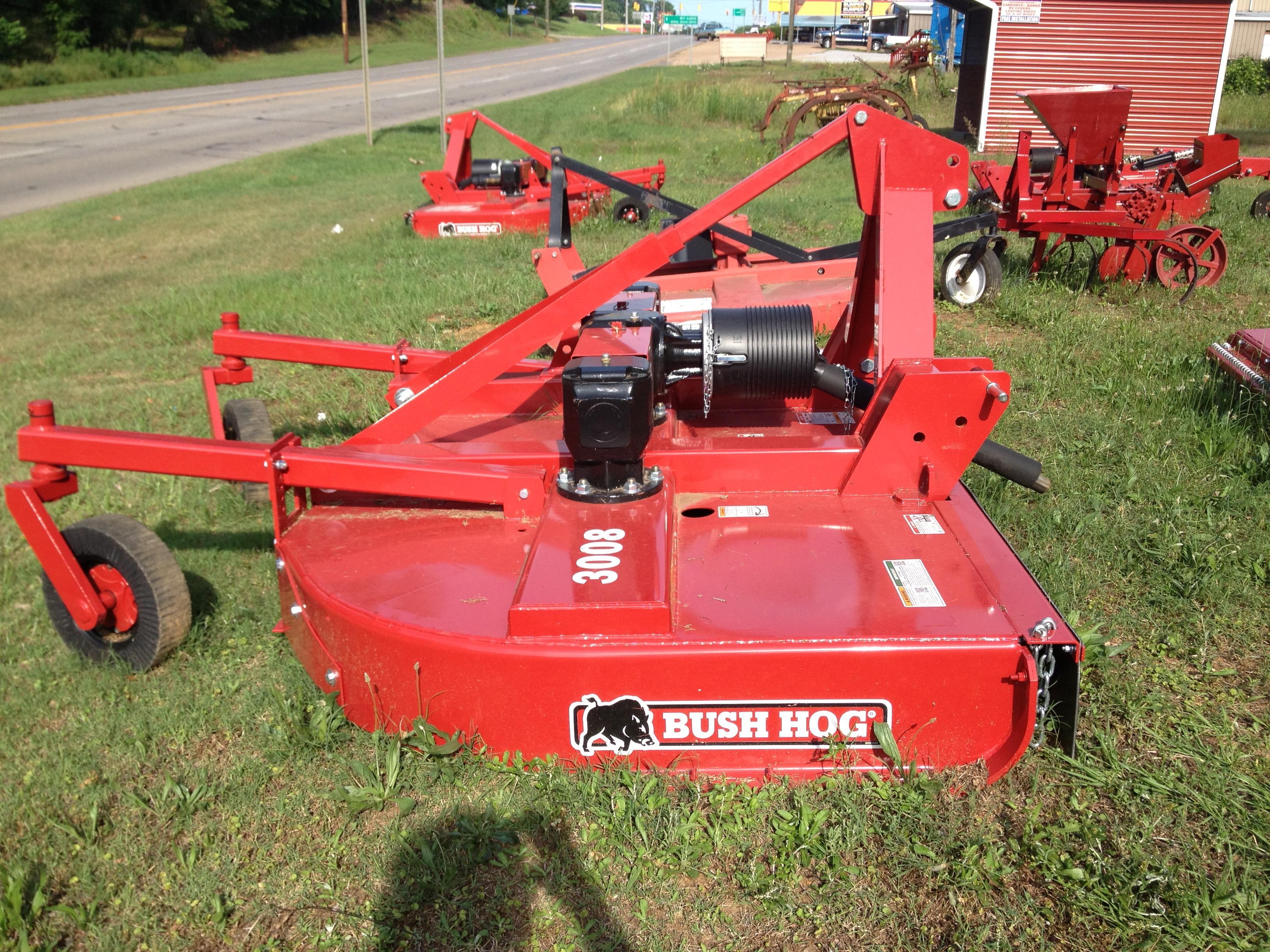 bush hogs thomas tractor co inc